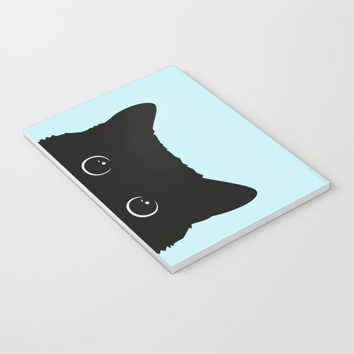 Black cat I Notebook