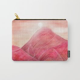 Lines in the mountains XXIII Carry-All Pouch