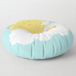 sun-bathing Floor Pillow