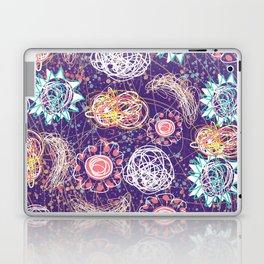Purple Galaxy Dreams Laptop & iPad Skin