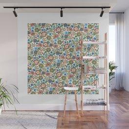 Flowers by Veronique de Jong Wall Mural