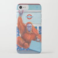 frank iPhone & iPod Cases featuring Frank by Sarah Underwood Illustration
