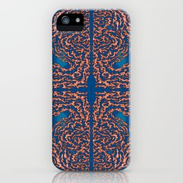 Belief - Symmetrical Abstract Expressionism iPhone Case