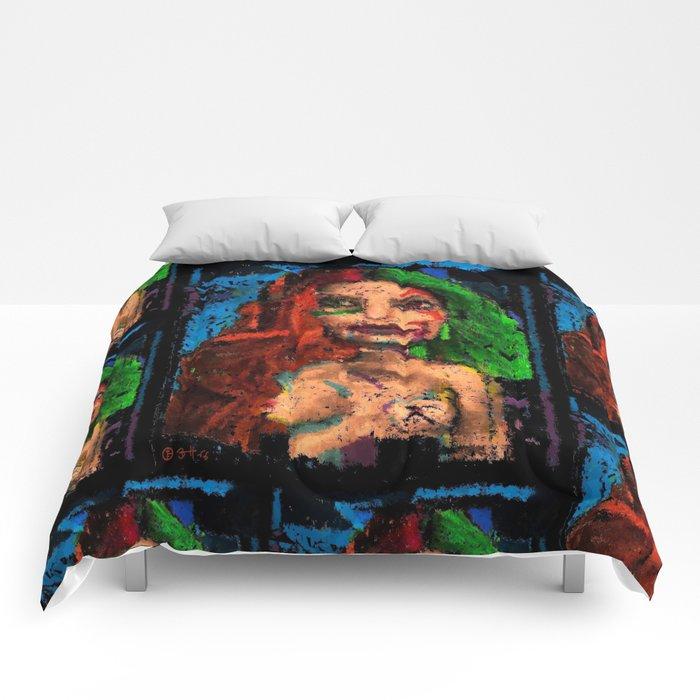 Sleep With Me Penelope Comforters