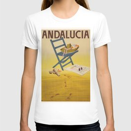 Vintage poster - Andalucia, Spain T-shirt