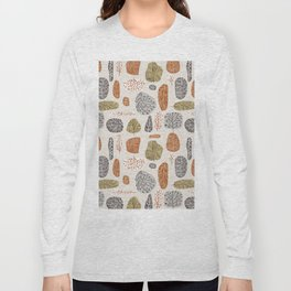 Tree Stamps Long Sleeve T-shirt