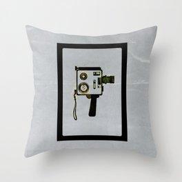 Super 8 Super Fly Throw Pillow