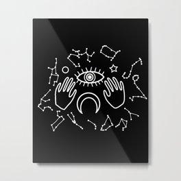 Eye Horoscope II Metal Print