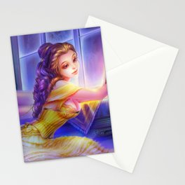 Sleepless Nights-Belle Stationery Cards