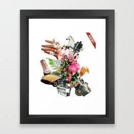 New! - Collage #3. Framed Art Print