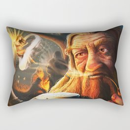 Fairy Grove Rectangular Pillow