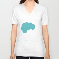 fault in our stars V-neck T-shirts featuring The Fault In Our Stars by laurenschroer