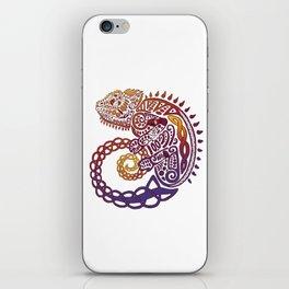 Celtic Chameleon iPhone Skin