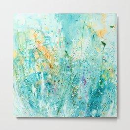 Whispering Meadow 1k by Kathy Morton Stanion Metal Print