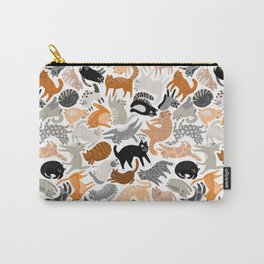 Cats Forever by Veronique de Jong Carry-All Pouch