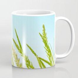 Nature photography Green grass II Coffee Mug
