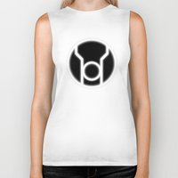 lantern Biker Tanks featuring Green Lantern: Red Lantern by The Barefoot Hatter