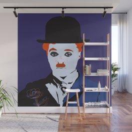 Charlie Chaplin Wall Mural