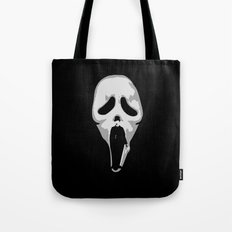 silent scream - charlie chaplin Tote Bag