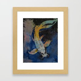 Dragon Koi Framed Art Print