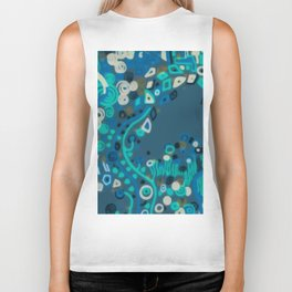 "Gustav Klimt ""Textile design - Model 1"" edited (1) Biker Tank"