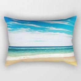 Ocean Beach Rectangular Pillow