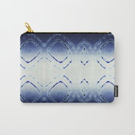 Tie-Dye Dia Blue Carry-All Pouch