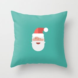 ho ho ho! Santa Claus is coming to town Throw Pillow