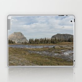 Mt Reynolds and Heavy Runner from Logan Pass Laptop & iPad Skin
