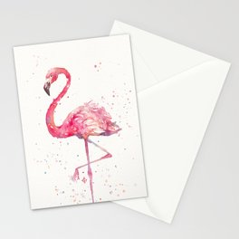 A Flamingos Fancy Stationery Cards