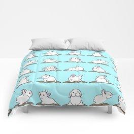 Bunnies Yoga Comforters