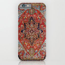 Heriz  Antique Persian Rug Print iPhone Case