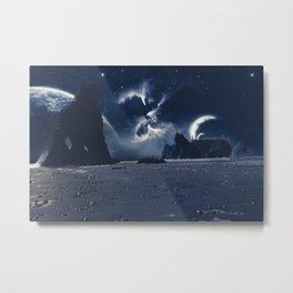 Forks Nebula Metal Print