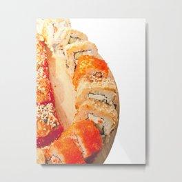 sushi rolls Metal Print