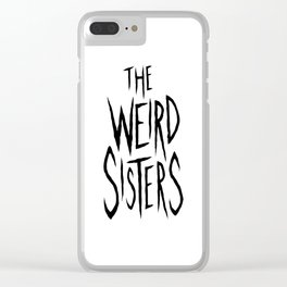 The Weird Sisters - Black Clear iPhone Case