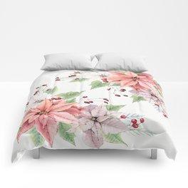 Poinsettia 2 Comforters
