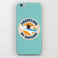 airplane iPhone & iPod Skins featuring Airplane by BATKEI