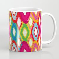 kilim Mugs featuring Ikat by Helene Michau