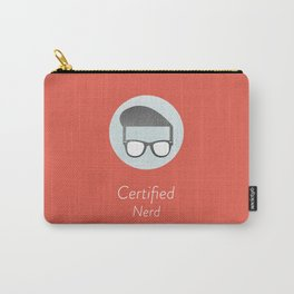 Certified Nerd Carry-All Pouch