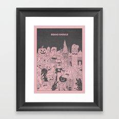 Squad Ghouls Framed Art Print