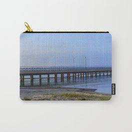 Pier in sunset Carry-All Pouch