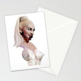 Madonna 80s Cone Bra Like A Virgin Stationery Cards