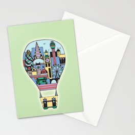 Hot Airballoon Stationery Cards