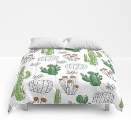 Cacti or Cactuses? Comforters