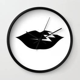 UW/ICO Dark & Long Wall Clock