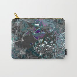 Forest first frost floral camouflage Carry-All Pouch