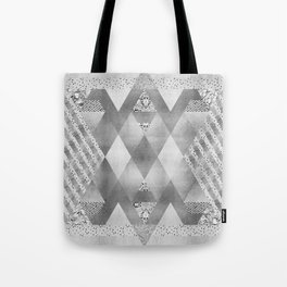 ETHNO Elegance in silver Tote Bag
