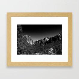 Yosemite Valley View Framed Art Print
