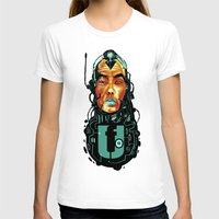sci fi T-shirts featuring BLK SCI-FI 6 by BlackKirby1