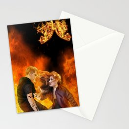 Clace heavenly fire Stationery Cards